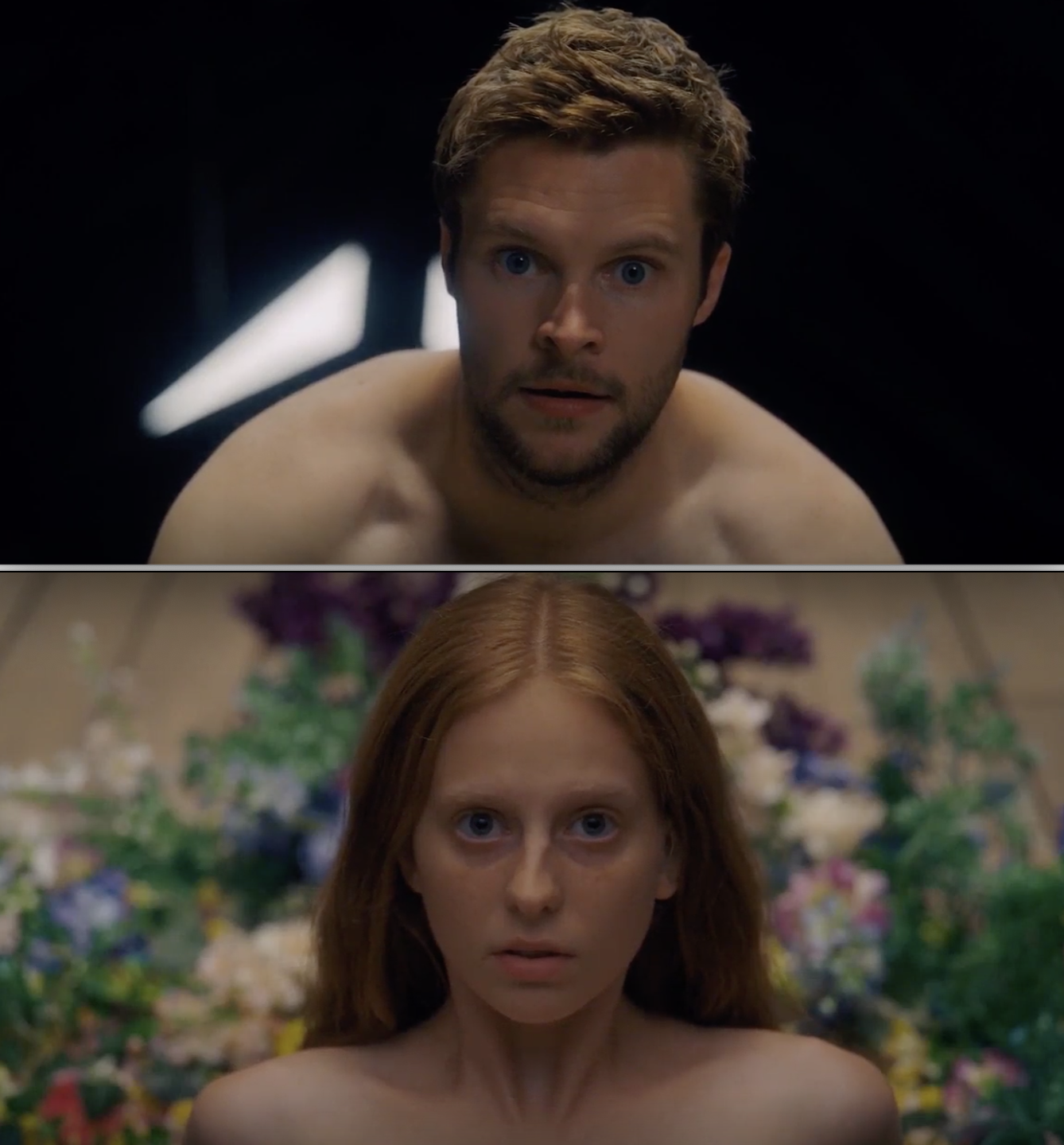 "Safe-for-work pics of the orgy in ""Midsommar"""
