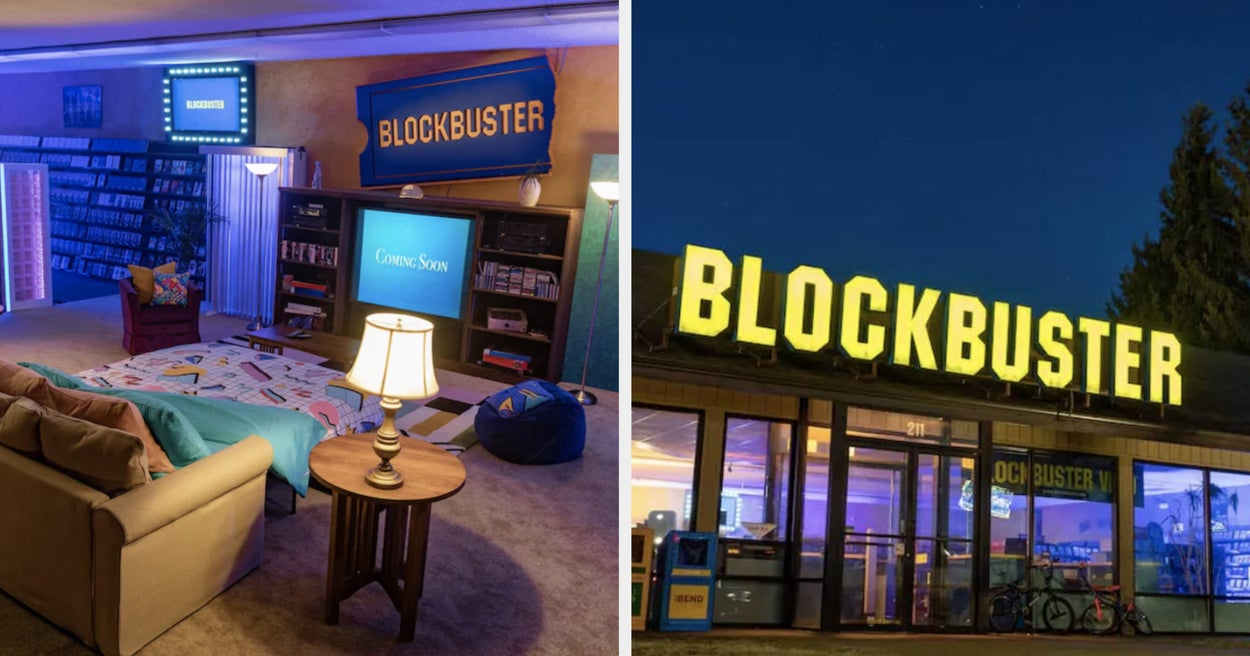 Airbnb Is Offering A Sleepover At The Last Blockbuster