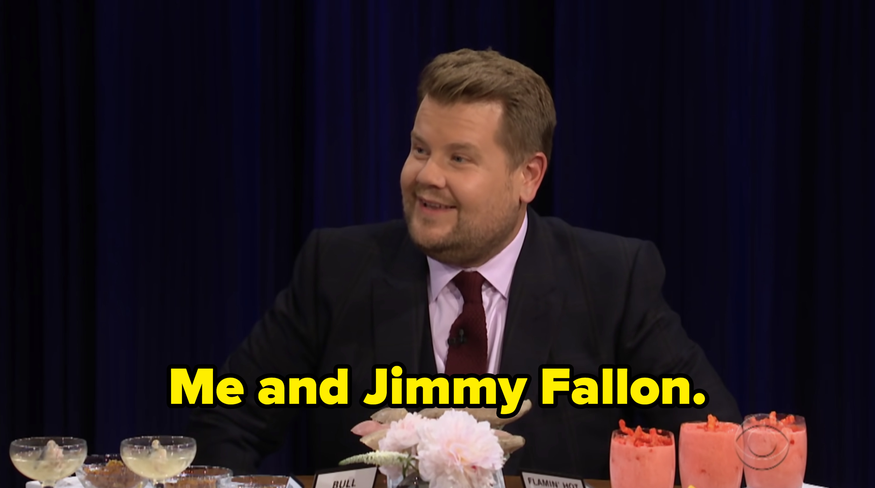 James Cordon revealing Jimmy Fallon and he were the drunkest at the Met Gala