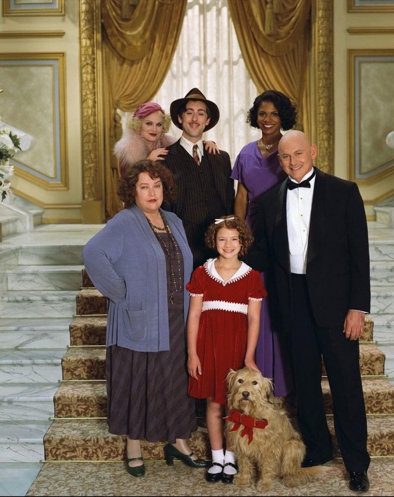 """the cast of """"Annie"""""""