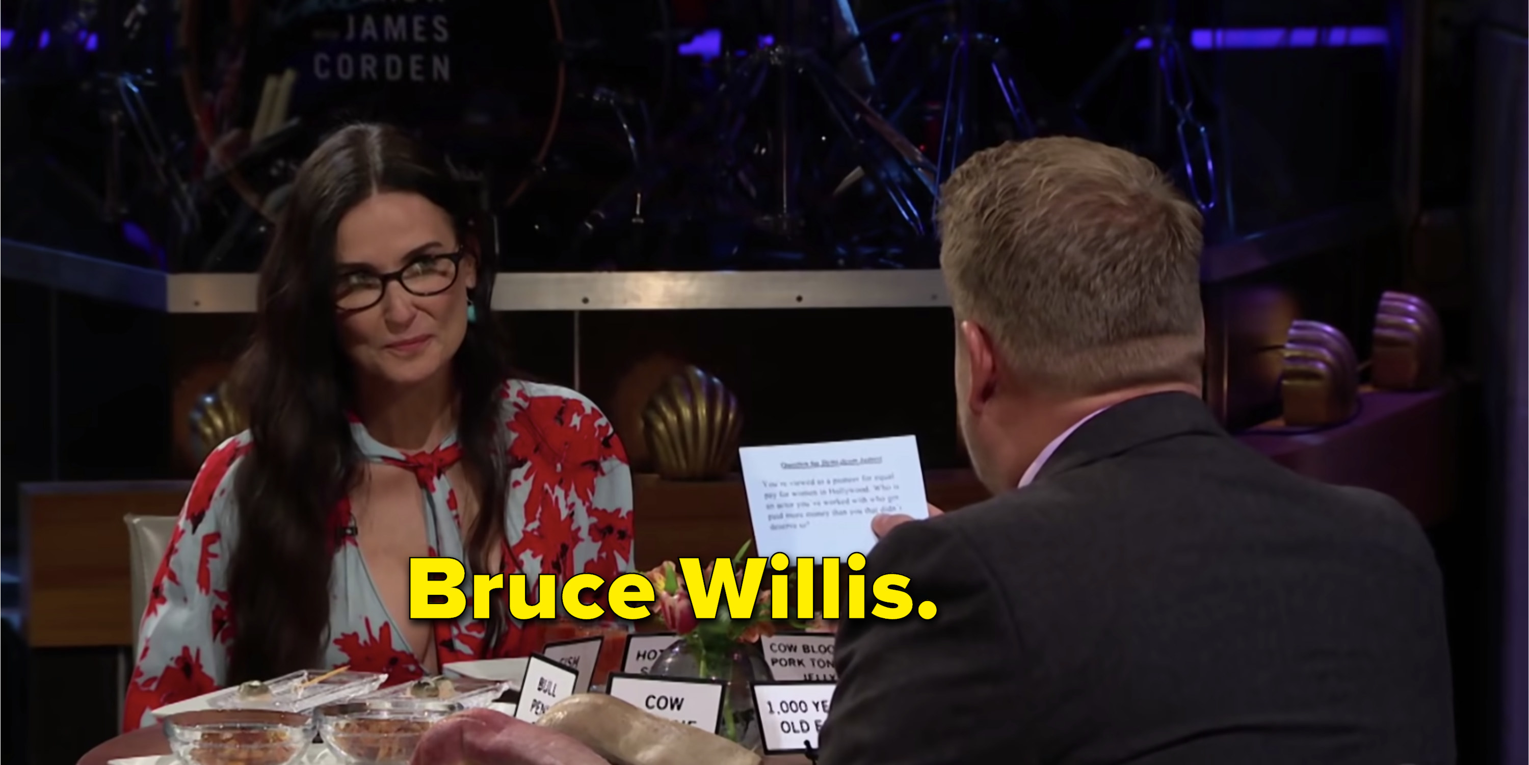 Demi Moore saying Bruce Willis made more than her