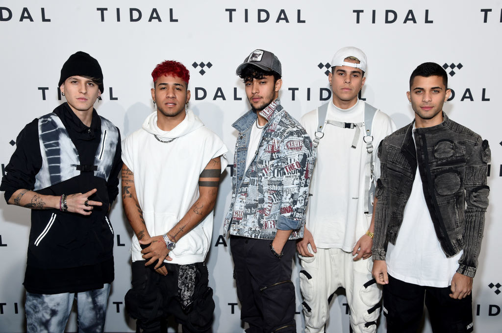 Photo of Latin American group CNCO
