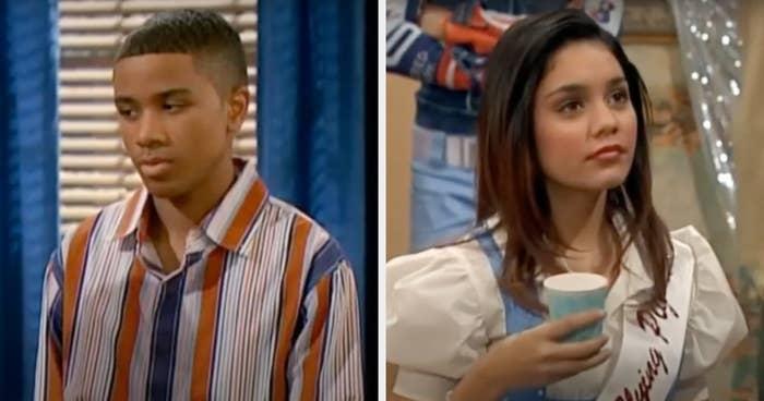 "Young Andre Jamal Kinney and Vanessa Hudgens in ""Keke & Jamal"""