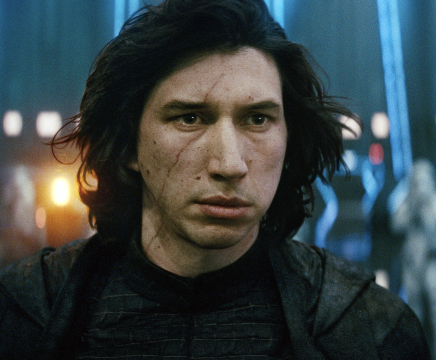 Kylo Ren looking into the distance