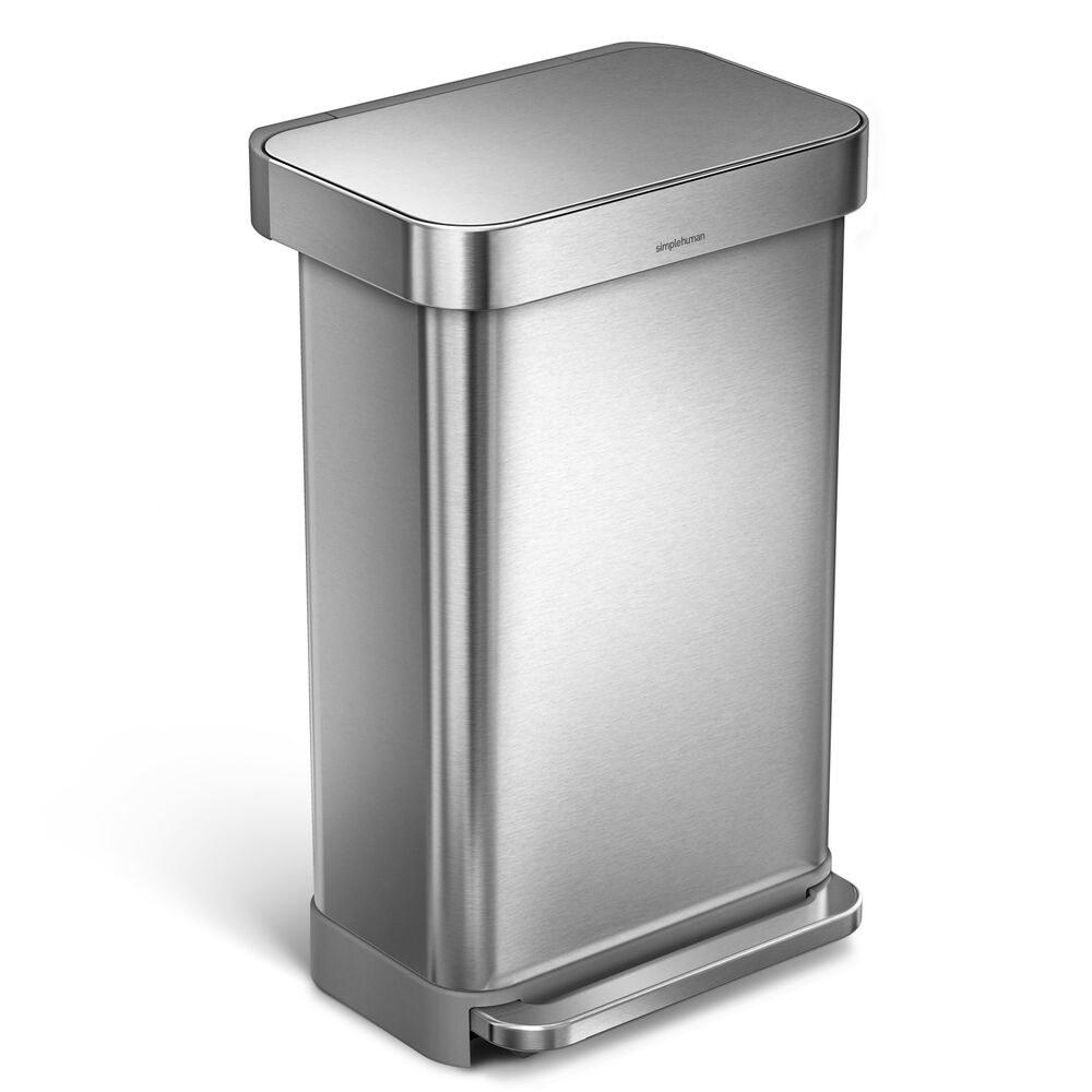 The 11.8 gallon simplehuman rectangular step trash can