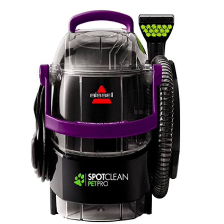 The BISSELL SpotClean Pet Pro Portable Carpet Cleaner