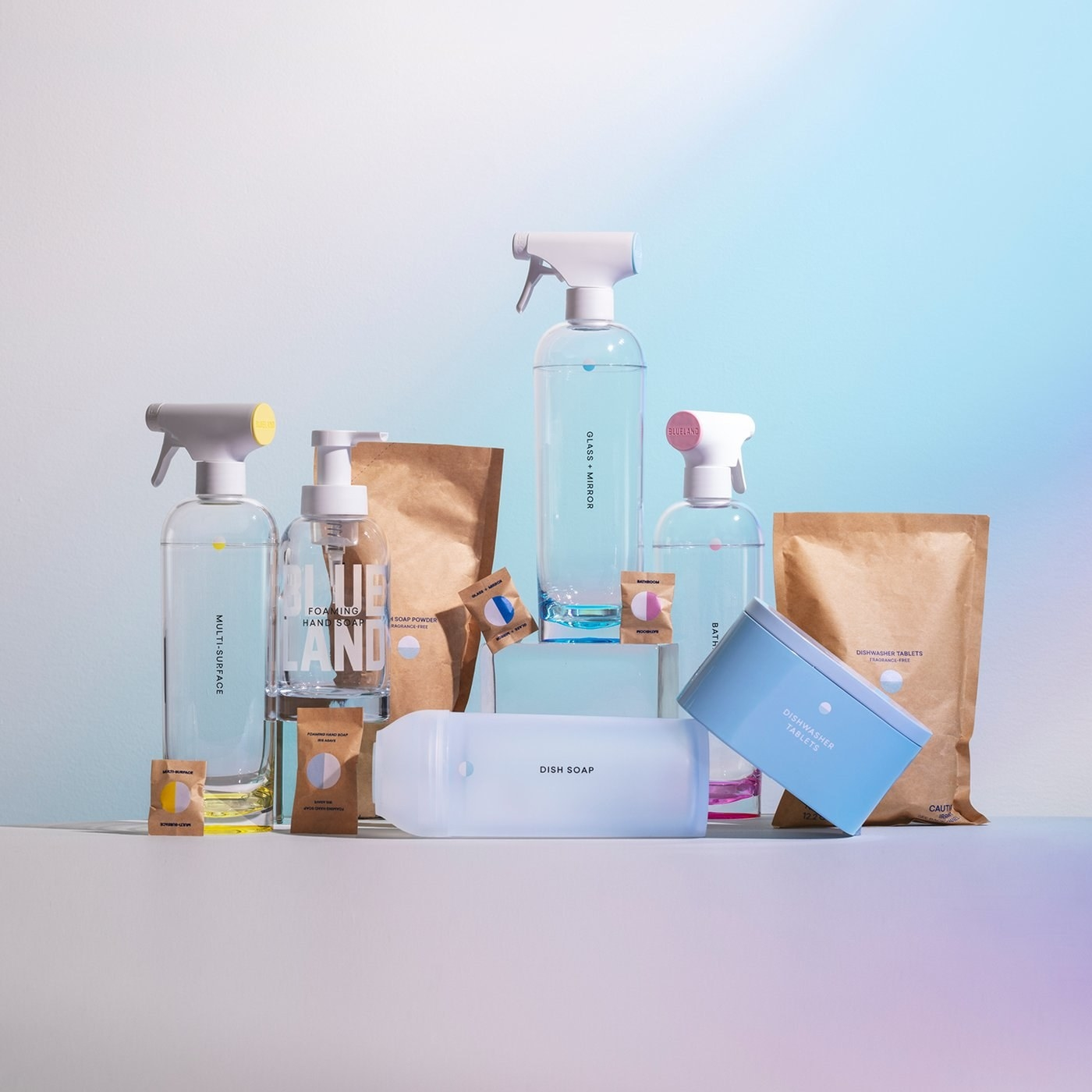The Everyday Clean kit from Blueland