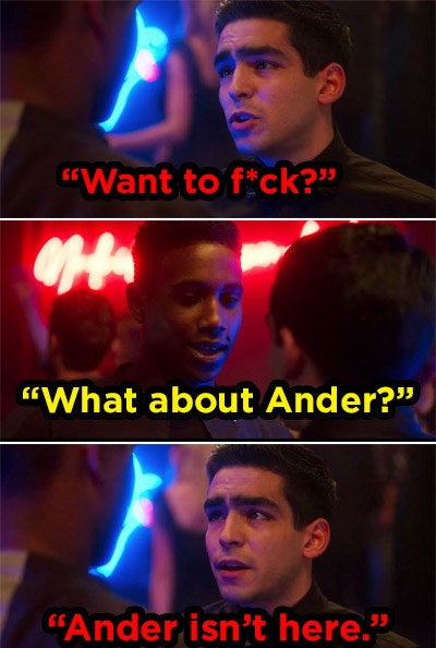 Omar asking Malick if he wants to hook up behind Ander's back