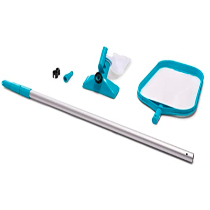 The full Intex Basic Pool Maintenance Kit for Above Ground Pools