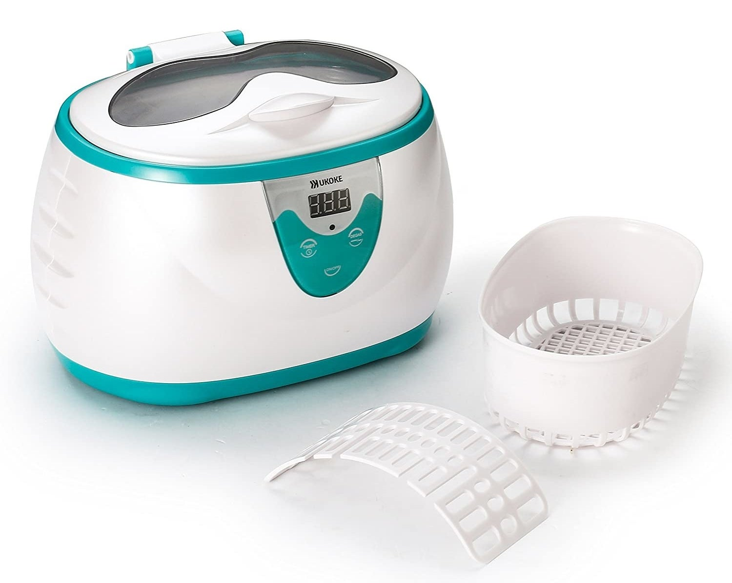 The compact cleaning machine with button controls