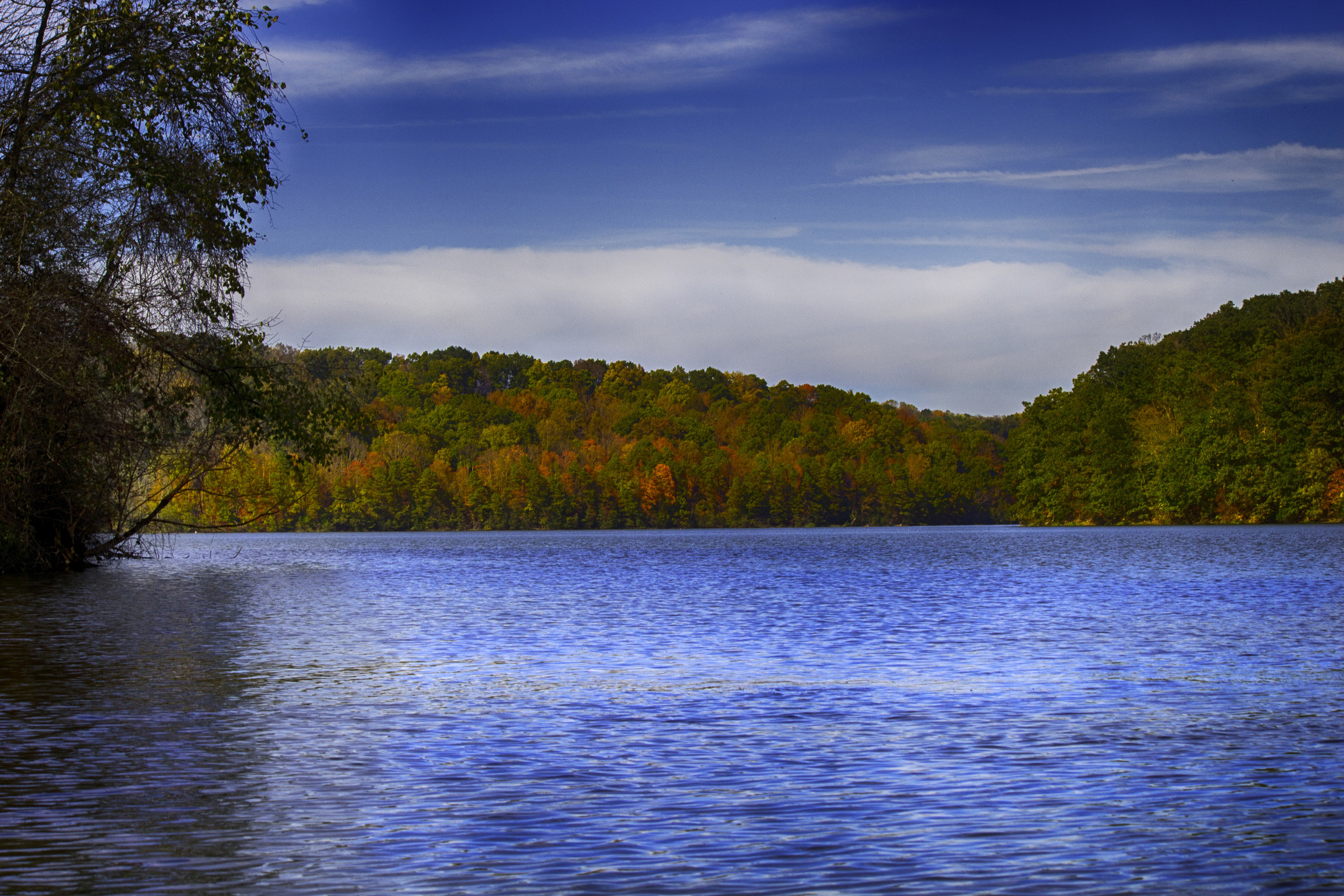 A beautiful lake scene