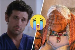 Derek Shepherd from Grey's Anatomy and Mama Cocoa from Coco