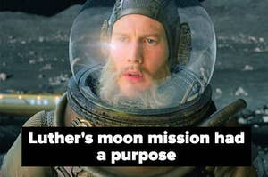 Luther on the moon.