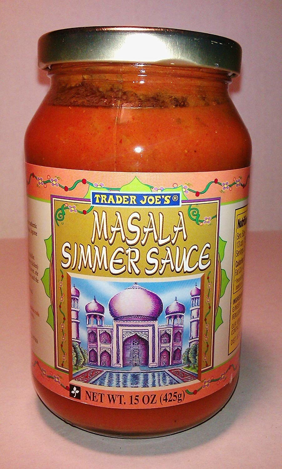Jar of Trader Joe's Marsala Simmer Sauce