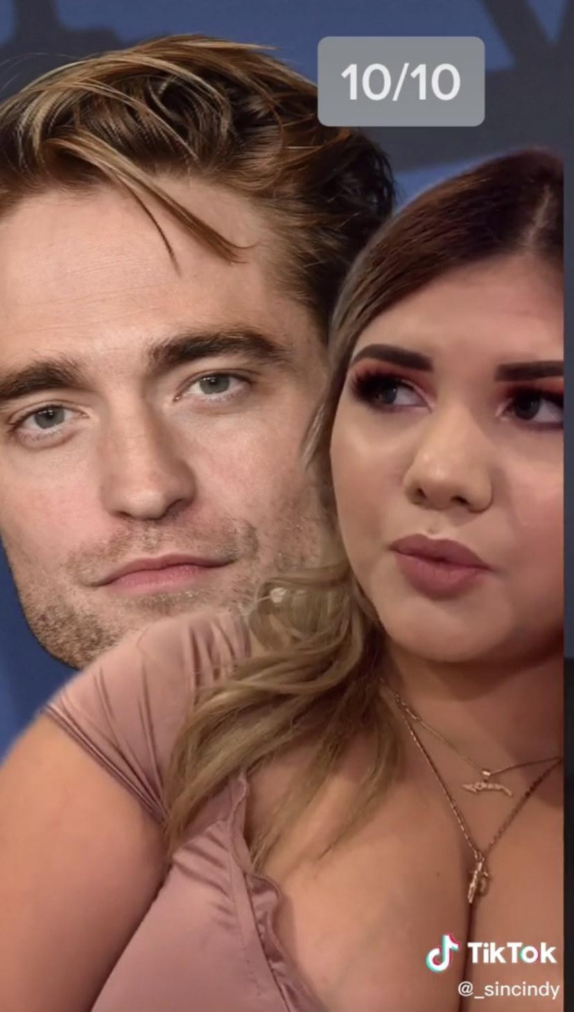 Cindy ranking Robert Pattinson 10/10