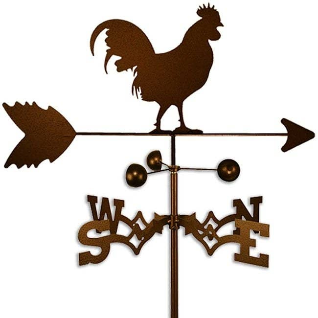 The SWEN rooster weathervane