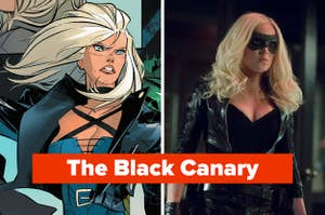 The Black Canary in DC Comic books and played by Caity Lotz in Arrow