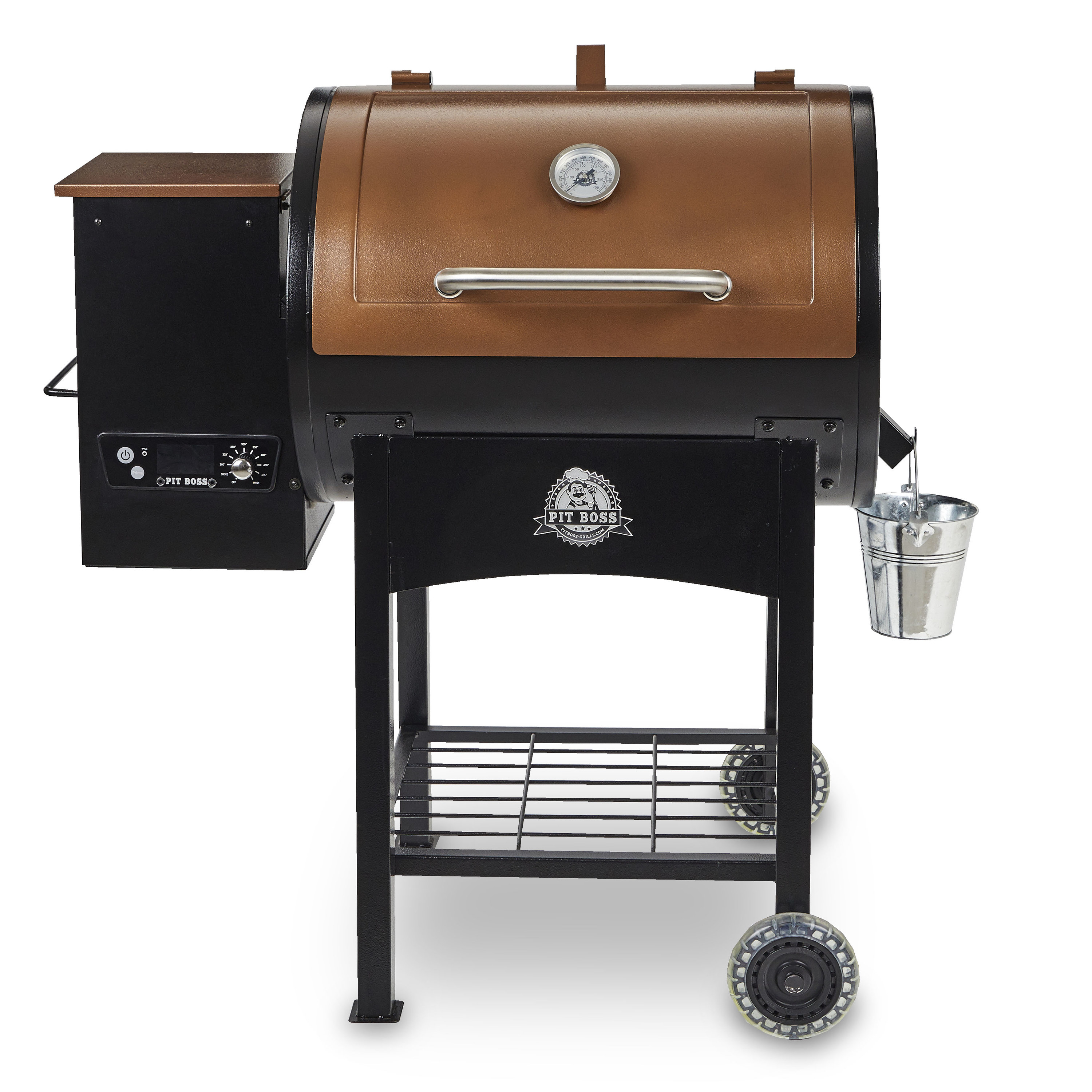 The Pit Boss Classic 700 Sq. In. Wood Fired Pellet Grill with Flame Broiler