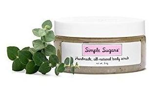 Simple Sugars body scrub