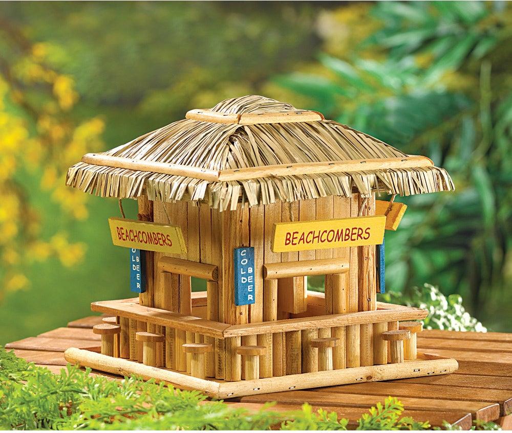 The Zingz & Thingz beach hangout birdhouse