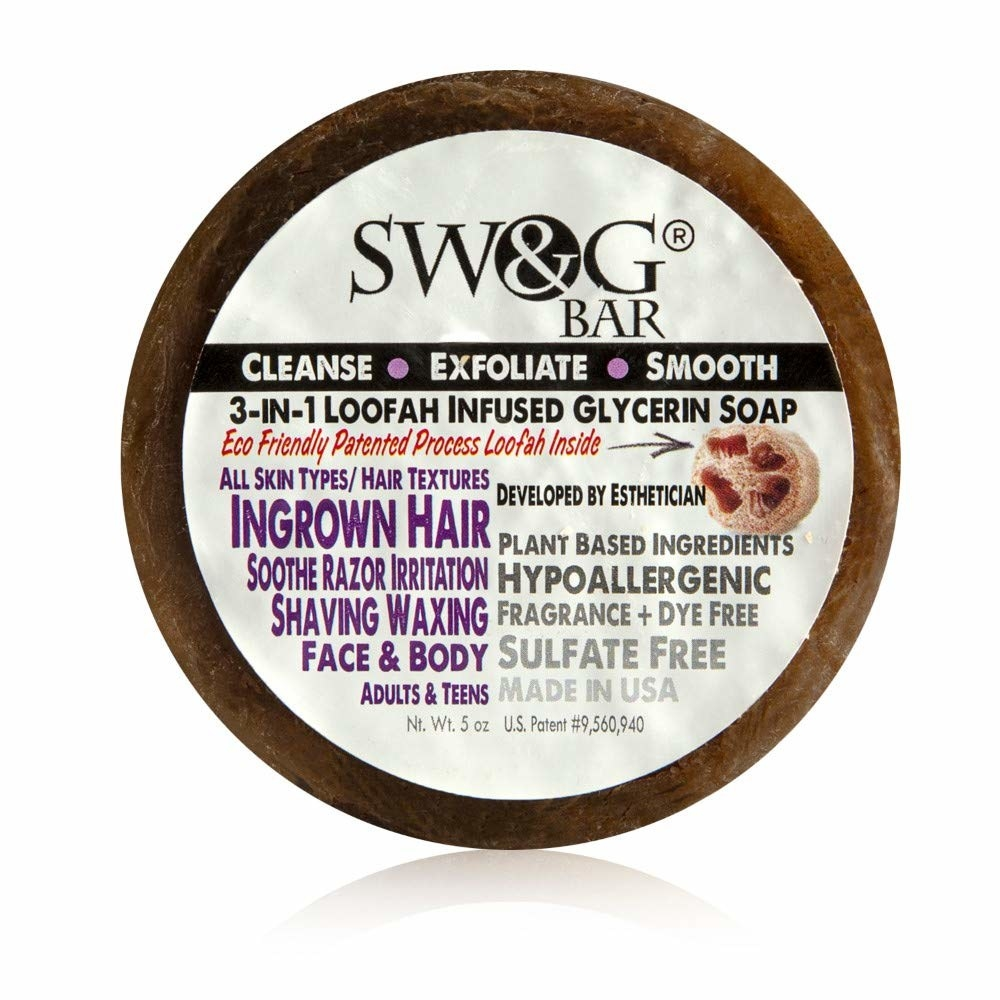 the swag bar round soap in packaging