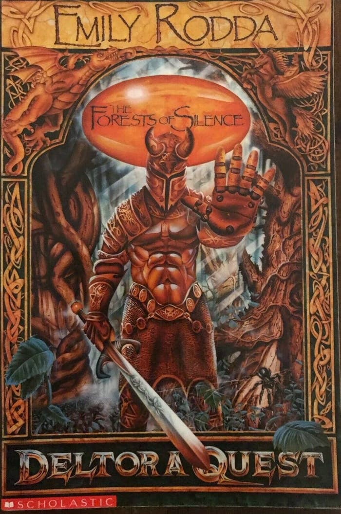 Book cover of the first Deltora Quest book.