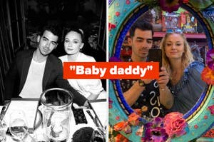 sophie turner joe jonas baby daddy caption