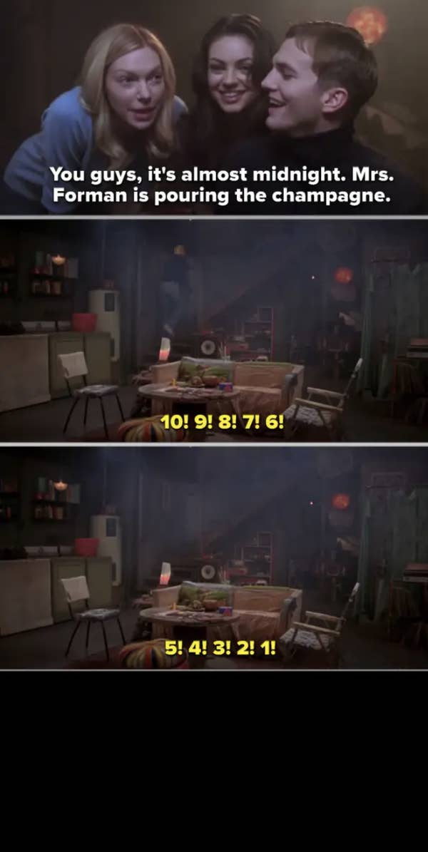 6. One second before the first day of 1980, the screen went black on That '70s Show. This made perfect sense since the show was only about the '70s.
