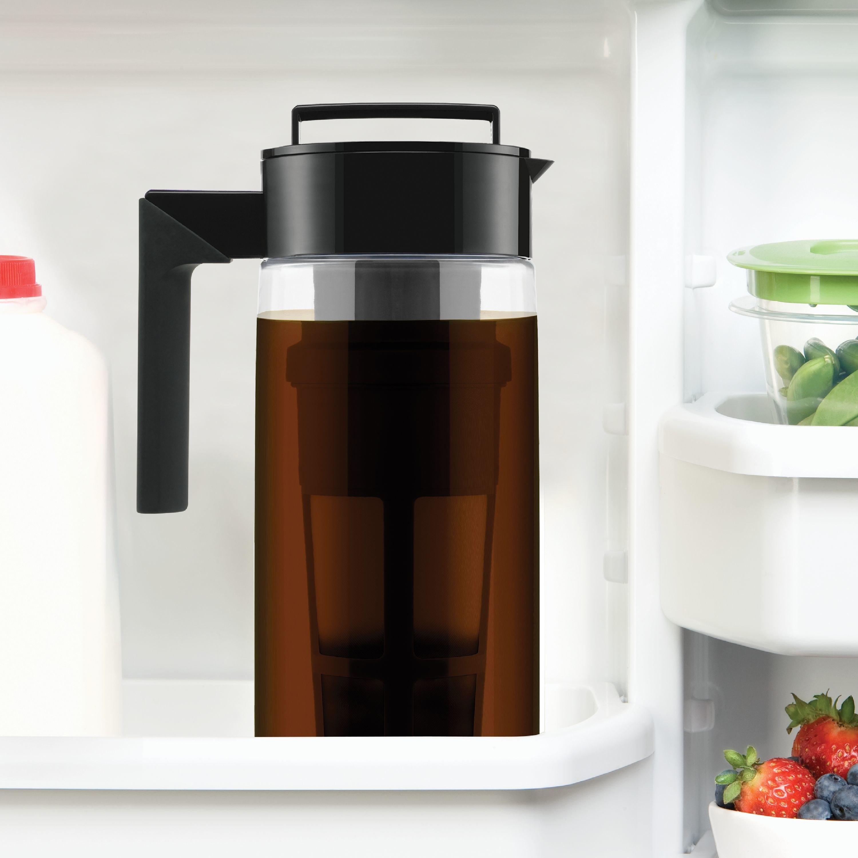 Takeya Cold Brew Coffee Maker sitting in fridge