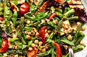 Vegan Salad by Lazy Cat Kitchen