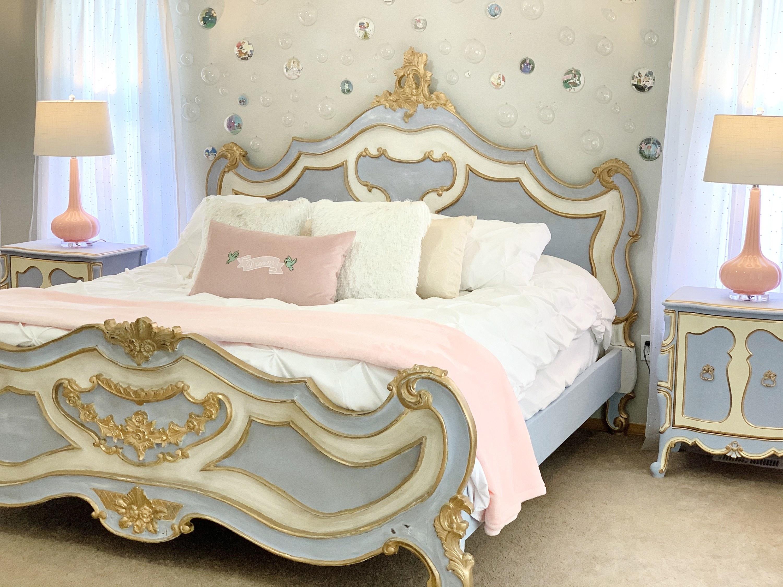 Photo of Cinderella bed.