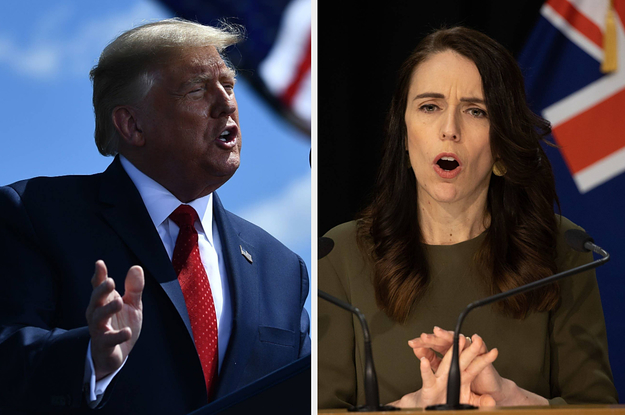 New Zealand Lawmakers Are Hitting Back At Trump For His Comments About Their Coronavirus Cases