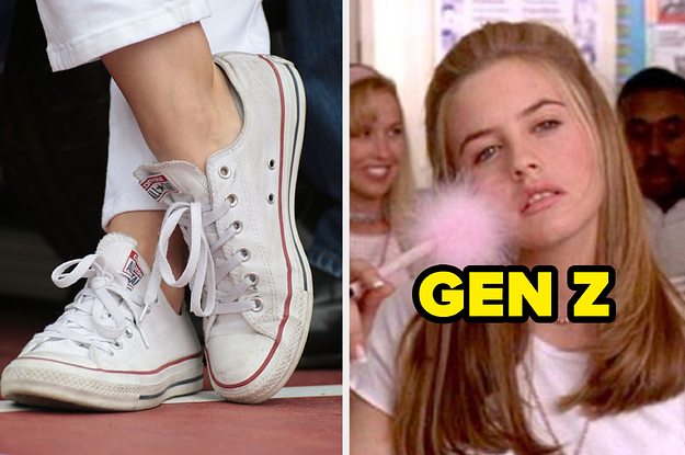 Doodle On These Converse Shoes And We'll Guess If You're A Gen Z'er, Millennial, Gen X'er, Or Boomer