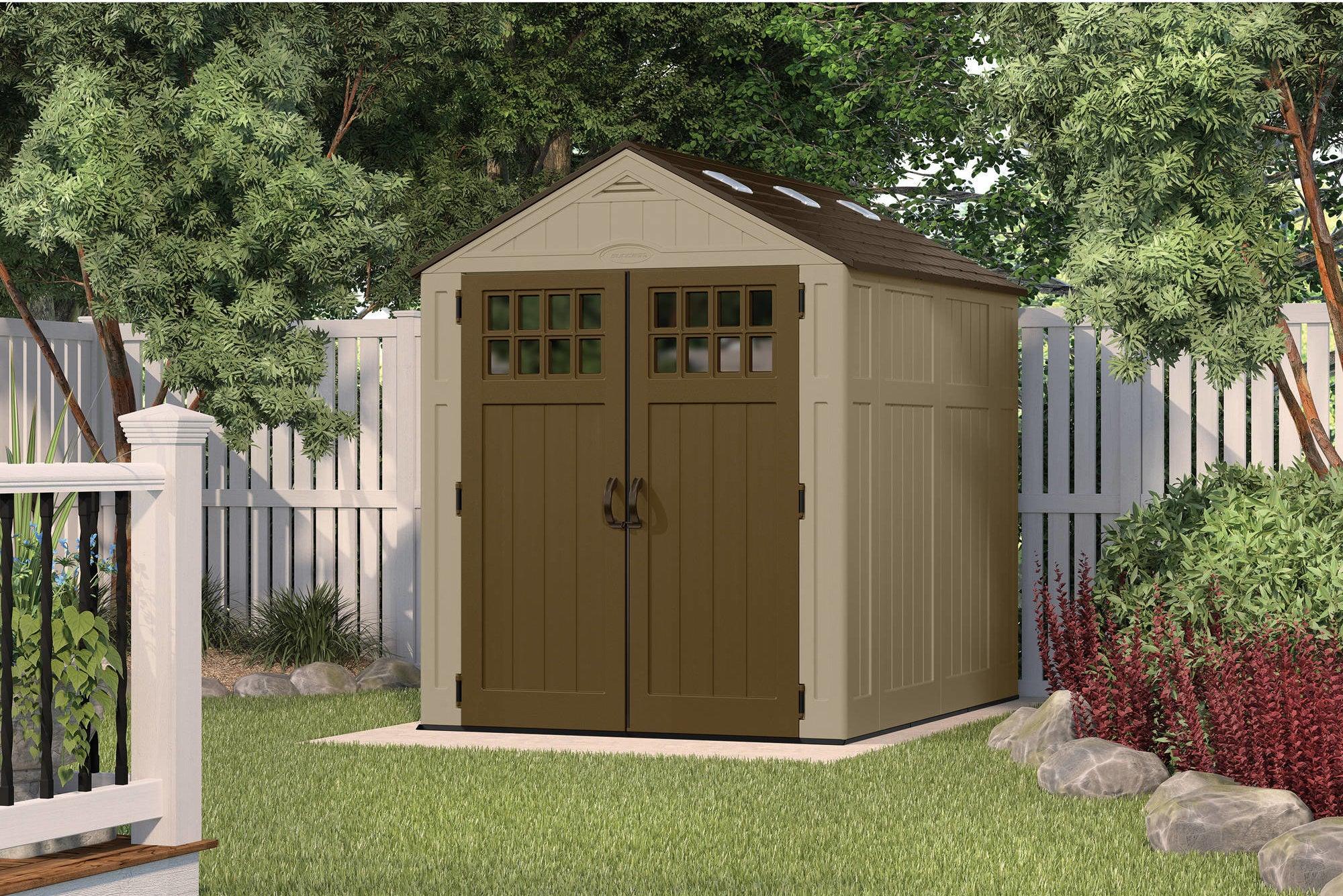 Suncast Everett backyard shed