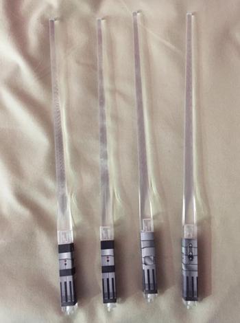 unlit lightsaber chopsticks