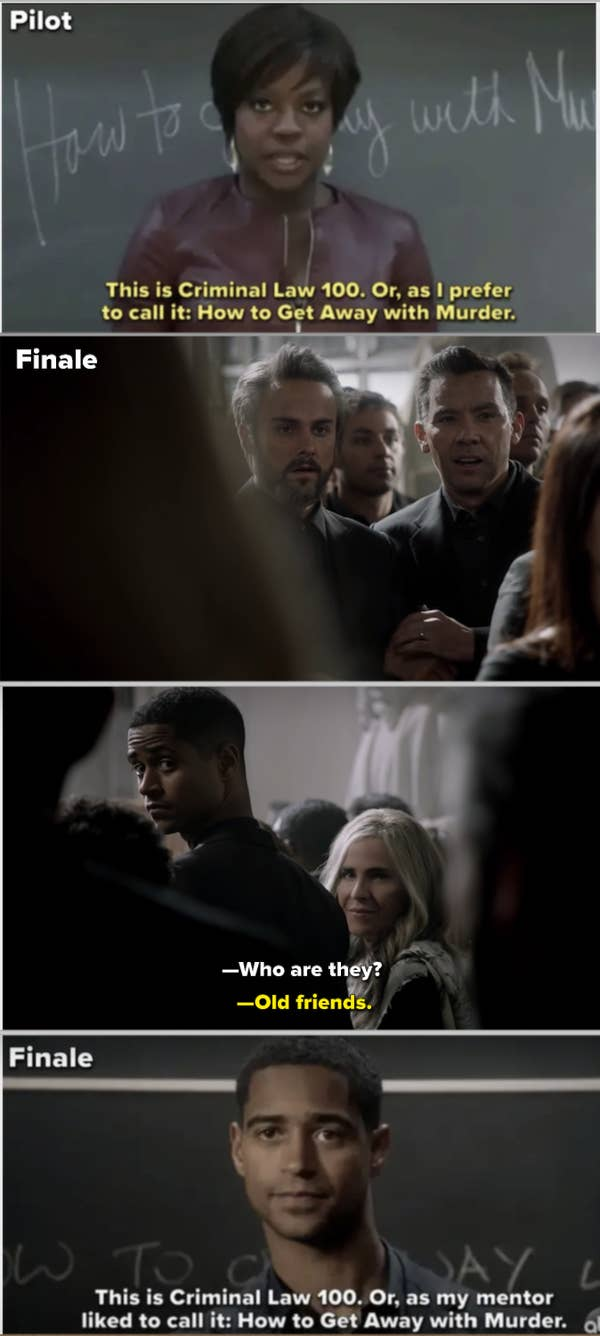 11. When Wes's son became the new Annalise Keating in How to Get Away with Murder, the show ended the same way it began.