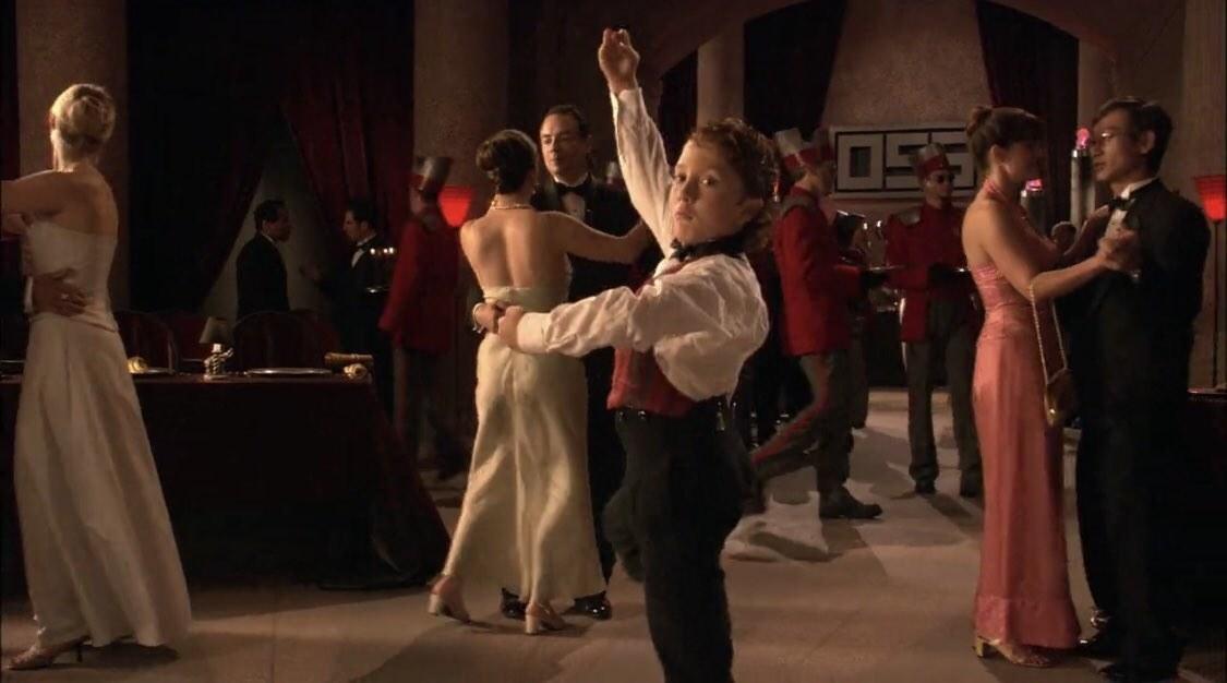 Juni dancing ballet in Spy Kids 2.