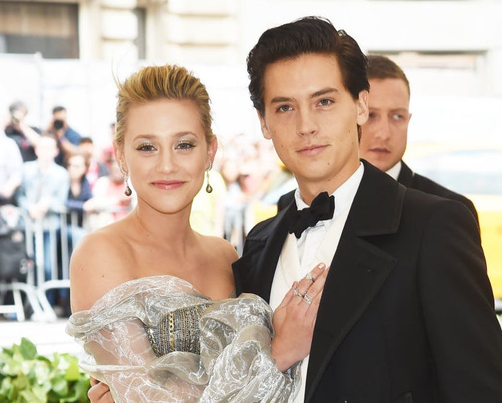 Lili Reinhart and Cole Sprouse coupled together at a Hollywood event