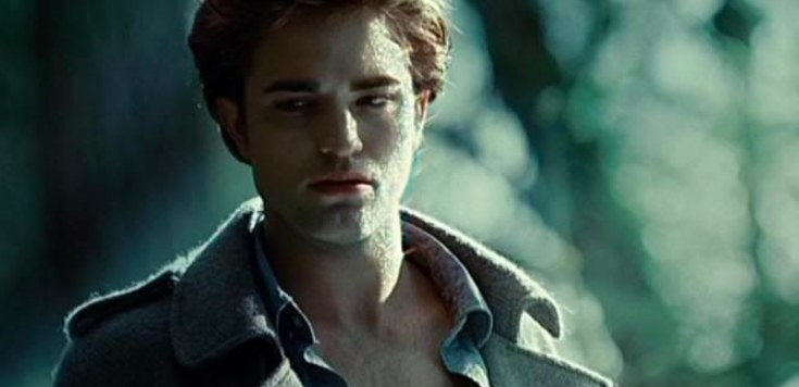 Edward Cullen with sparkling skin in Twilight