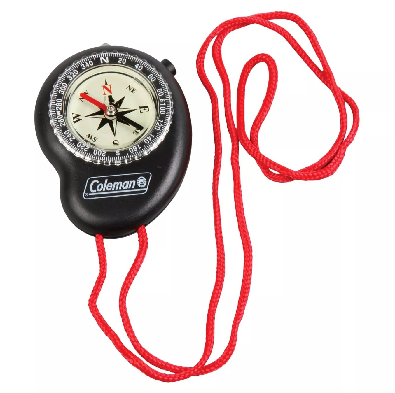 The compass with necklace attachment