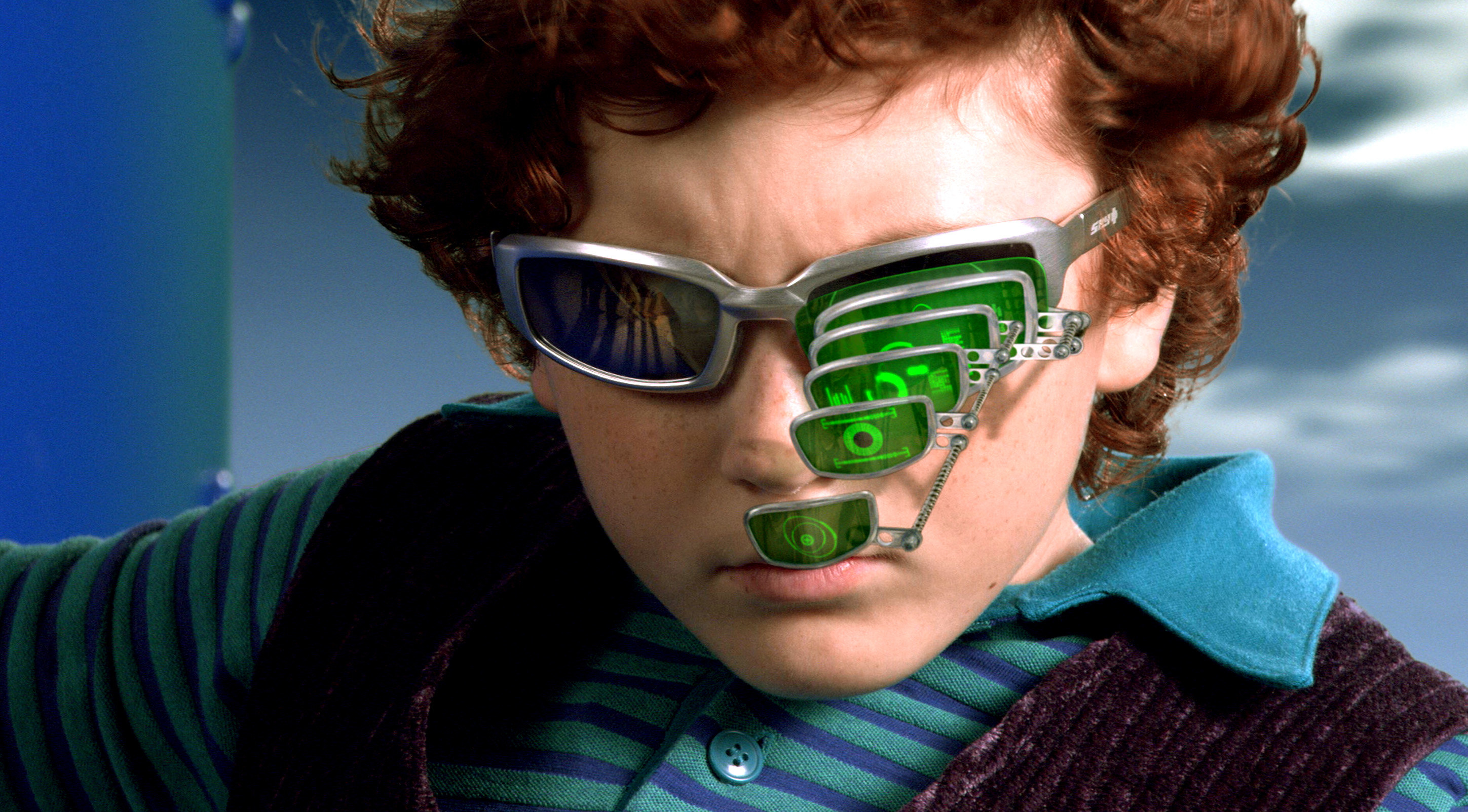 Juni Cortez wearing his spy glasses