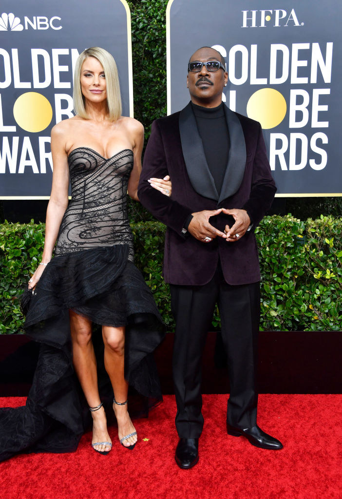 Photo of Eddie Murphy and Paige Butcher.