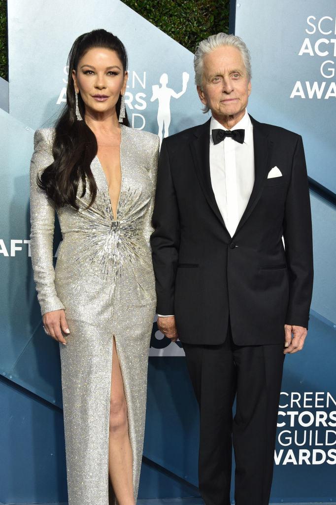 Photo of the Catherine Zeta-Jones and Michael Douglas.