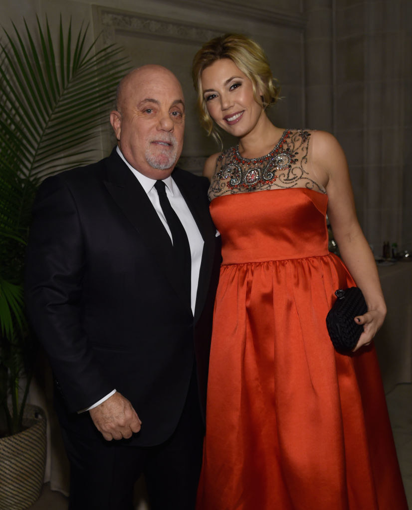 Photo of Alexis Roderick and Billy Joel.