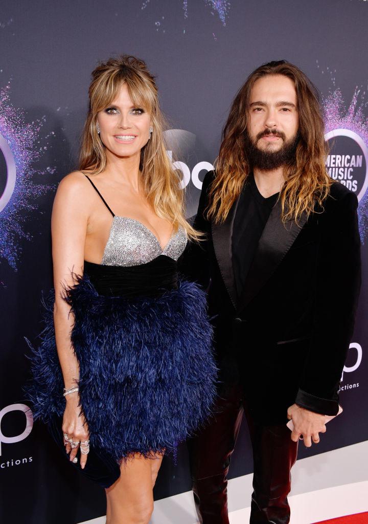 Photo of Heidi Klum and Tom Kaulitz.