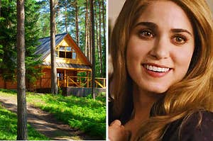 House and Rosalie from twilight
