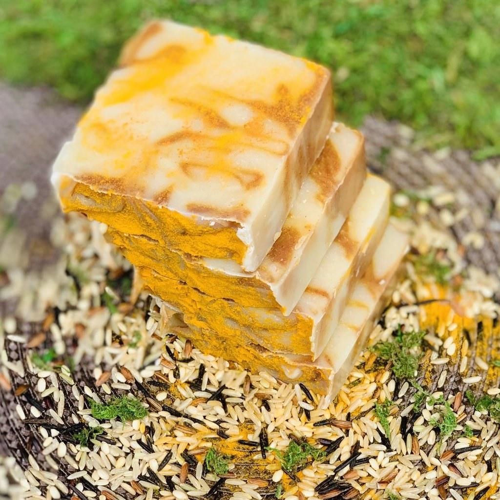 the soap bars