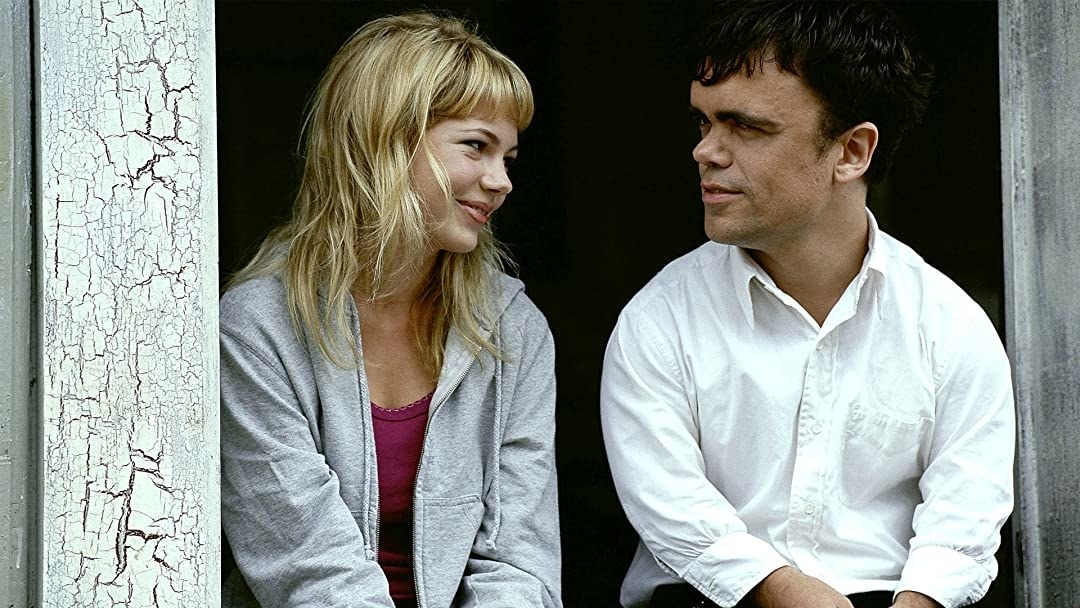 """Michelle Williams and Peter Dinklage in """"The Station Agent"""""""