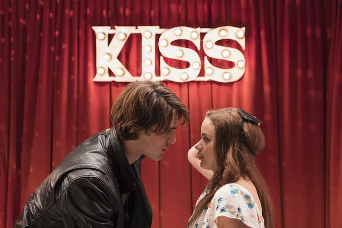 """Elle and Noah in """"The Kissing Booth"""""""