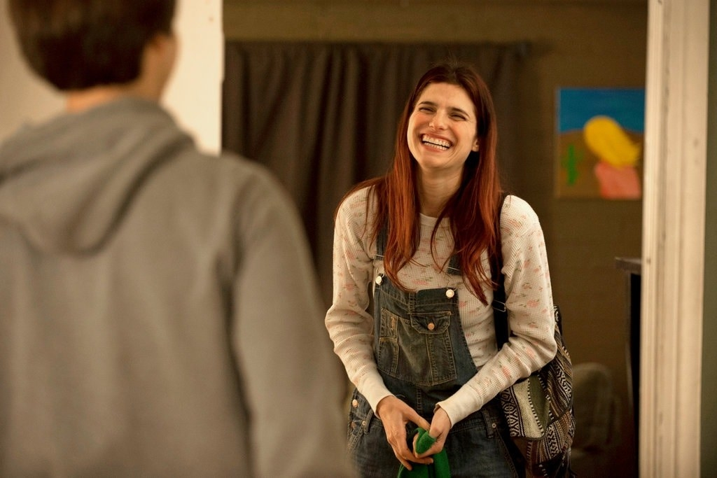 """Demetri Martin and Lake Bell in """"In a World..."""""""